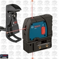 Bosch GPL3 1x 3-Point Self-Leveling Alignment Laser w/ Positioning Device