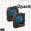 Bosch GPL3 3-Point Self-Leveling Alignment Laser 2x
