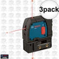 Bosch GPL3 3-Point Self-Leveling Alignment Laser 3x