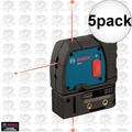 Bosch GPL3 3-Point Self-Leveling Alignment Laser 5x