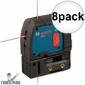 Bosch GPL3-RT Reconditioned 3-Point Self-Leveling Alignment Laser 8x