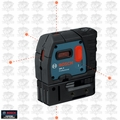 Bosch GPL5-RT 5-Point Class II 1mW Self-Leveling Alignment Laser
