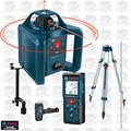 Bosch GRL245HVCK 800' Dual-Axis Rotary Laser + 120' Laser Range Finder