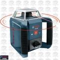 Bosch GRL400H Self-Leveling 635nm Class 2 Rotary Laser w/ Receiver