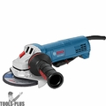 "Bosch GWS10-45DE 4-1/2"" 10A Slim Grinder w/ Deadman Paddle Switch"
