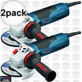 "Bosch GWS13-50VS 11 Amp 5"" Variable Speed Angle Grinder 2x"