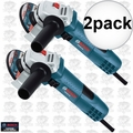 """Bosch GWS8-45-2P 2pk 4-1/2"""" Small Angle Grinder"""