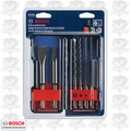 Bosch HCST006 6pc SDS-Plus Bulldog Rotary Hammer Bit Set