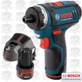 Bosch PS21-2A 12 Volt Max Cordless Litheon Pocket Driver