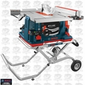 Bosch Tools GTS1041A-09 REAXX Jobsite Table Saw w/ Gravity Stand and Outfeed