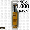 "Bostitch BT1300B-1M 1000 Pack 5/8"" 18-Gauge Brads 10x"