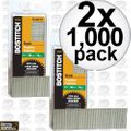 "Bostitch BT1338B-1M 1000 Pack 1-1/2"" 18-Gauge Brads 2x"