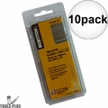 "Bostitch BT1342B-1M 1000 Pack 1-5/8"" 18-Gauge Brads 10x"