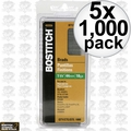"Bostitch BT1345B-1M 1000 Pack 1-3/4"" 18-Gauge Brads 5x"