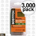 "Bostitch PT-2330-3M 3,000 1-3/16"" 23GA Headless Pin Nails"