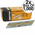 Bostitch PT-MC14815GAL1M 1,000 35 deg. Galvanized Strapshot Nails 2x
