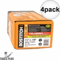 Bostitch PT-MC14815GAL1M 35 deg. Galvanized Strapshot Nails 4x
