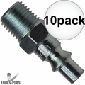"Coilhose 1401-DL 1/4"" NPT Male ARO Air Fitting 10x"
