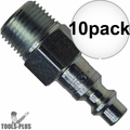 "Coilhose 1502-DL 1/4"" NPT Female M Plug Air Fitting 10x"