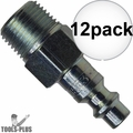 "Coilhose 1502-DL 1/4"" NPT Female M Plug Air Fitting 12x"