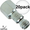"Coilhose 1602 1/4"" NPT Female T Plug Air Fitting 20x"