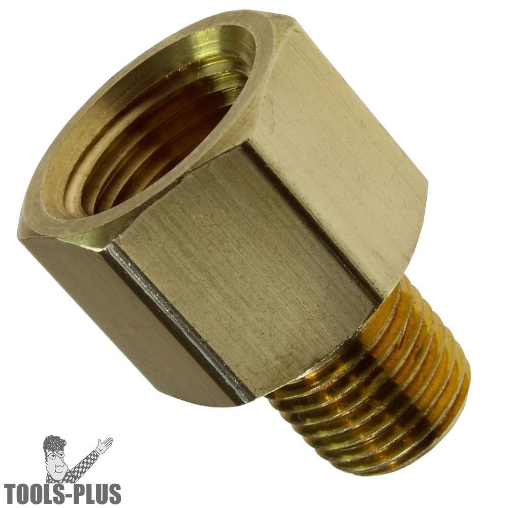 LIPOVOLT Metal Brass Straight Hose Joiner Barbed Connector Air Fuel Water Pipe Gas