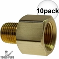 "Coilhose C0604-DL 10x 3/8"" FPT x 1/4"" MPT Hex Adapter"