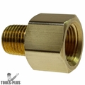"Coilhose C0604-DL 3/8"" FPT x 1/4"" MPT Hex Adapter"