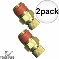 "Coilhose DV04 2x Air Compressor Tank Replacement Air Valve 1/4"" NPT"