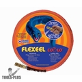"Coilhose PFE6050TQ15CB 3/8"" 50' Flexeel Orange Air Hose w/ CoBlo Blow Gun"