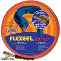 "Coilhose PFE6100TQ15CB 3/8"" 100' Flexeel Orange Air Hose w/ CoBlo Blow Gun"