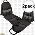Custom Leathercraft 1134 Carpenter's Tool Backpack w/ Padded Back Support 2x