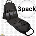 Custom Leathercraft 1134 Carpenter's Tool Backpack w/ Padded Back Support 3x