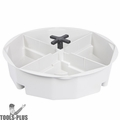 "Custom Leathercraft 1152 2-1/2"" High Bucket Tray - Gray"