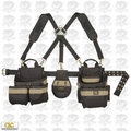 Custom Leathercraft 1614 Comfort Lift Combo Pouch System Polyester 5 pc