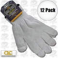 Custom Leathercraft 2000 12x String Knit Glove Liner