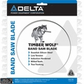 """Delta 28-226 142"""" X 3/4"""" X 2/3 TPI Timber Wolf Band Saw Blade"""