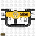 DeWalt D55040 Quadraport Four-Port 1 to 4 Air Line Splitter With Couplers