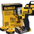 "DeWalt DCF880B 20V MAX* 1/2"" Impact Wrench w/2 5Ah Battery+Charger"