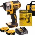 "DeWalt DCF890B 20V MAX* XR 3/8"" Compact Impact w/2 5Ah Battery+Charger"