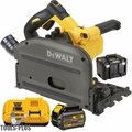 "DeWalt DCS520T1 FlexVolt 60V Max 6-1/2"" Cordless Track Saw Kit"