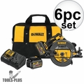 "DeWalt DCS575T2 7-1/4"" 60V MAX FLEXVOLT Circular Saw with Brake Kit"