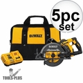 "DeWalt DCS577X1 FlexVolt 60V Max 7-1/4"" Cordless Worm Drive Saw Kit (9.0 Ah)"