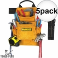 DeWalt DG5333 10-Pocket Carpenter's Suede Nail and Tool Bag 5x