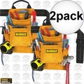 DeWalt DG5333 10-Pocket Carpenter's Suede Nail and Tool Bag 2x