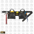 DeWalt DG5472 12-Pocket Leather Tool Belt Pouch Set