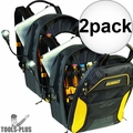 DeWalt DGCL33 33-Pocket Lighted USB Charging Tool Backpack 2x