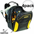 DeWalt DGCL33 33-Pocket Lighted USB Charging Tool Backpack 4x