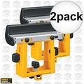 DeWalt DW7232 Miter Saw Stand Material Support and Stop 2x