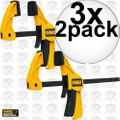 "DeWalt DWHT83148 4.5"" Small Trigger Clamps - 2 Pack 3x"